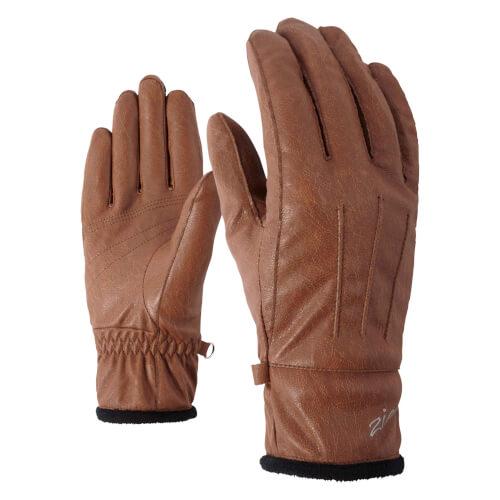 ZIENER Freizeit-Handschuhe Isala braun 406