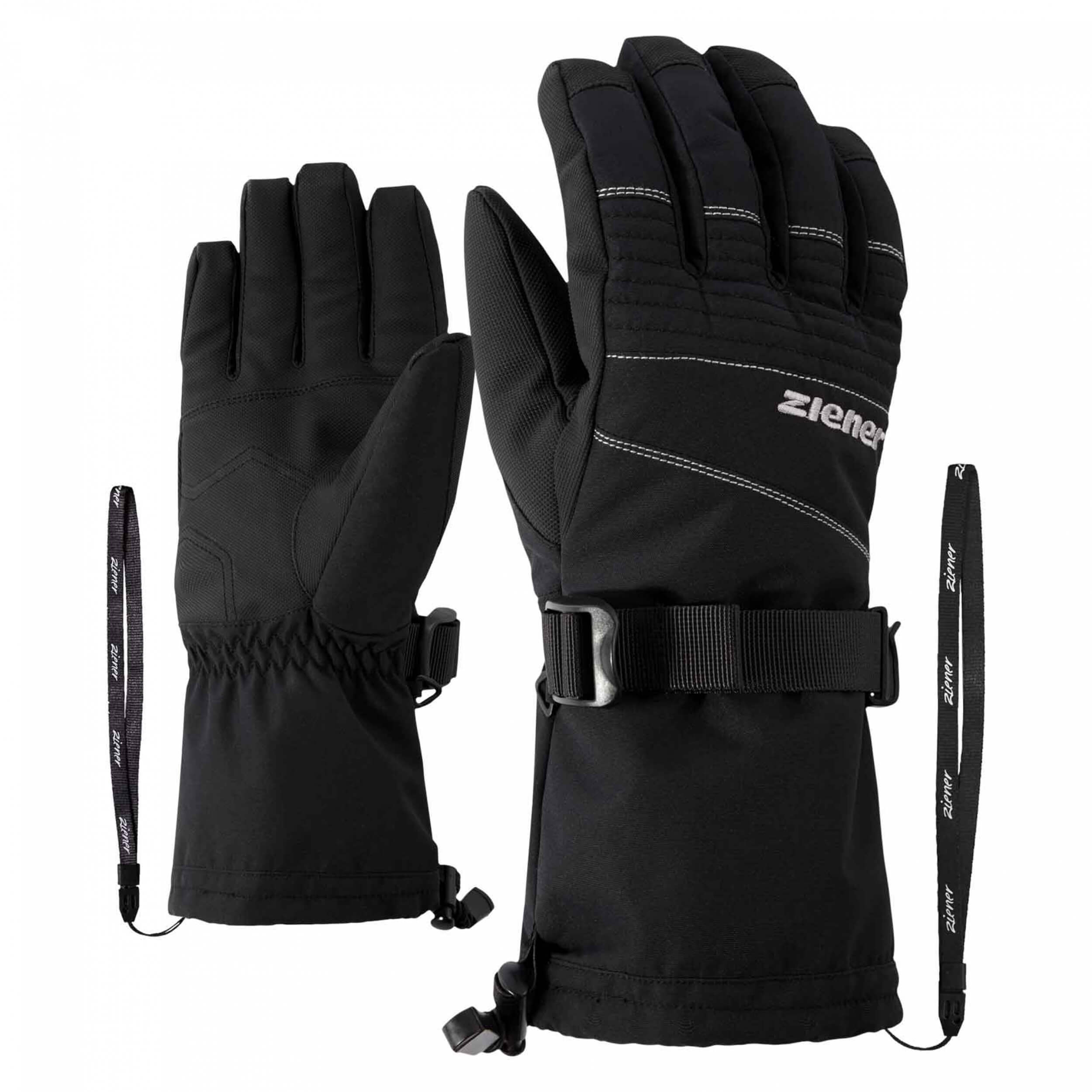 ZIENER Ski Handschuhe Gannik AQUASHIELD schwarz 12