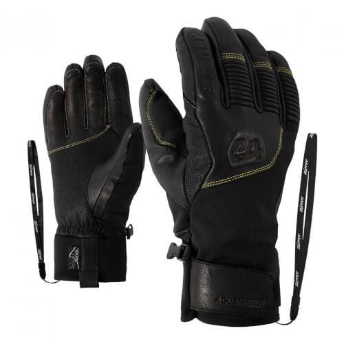 ZIENER Ski Handschuhe Ganzenberg Thermo Shield schwarz 12218