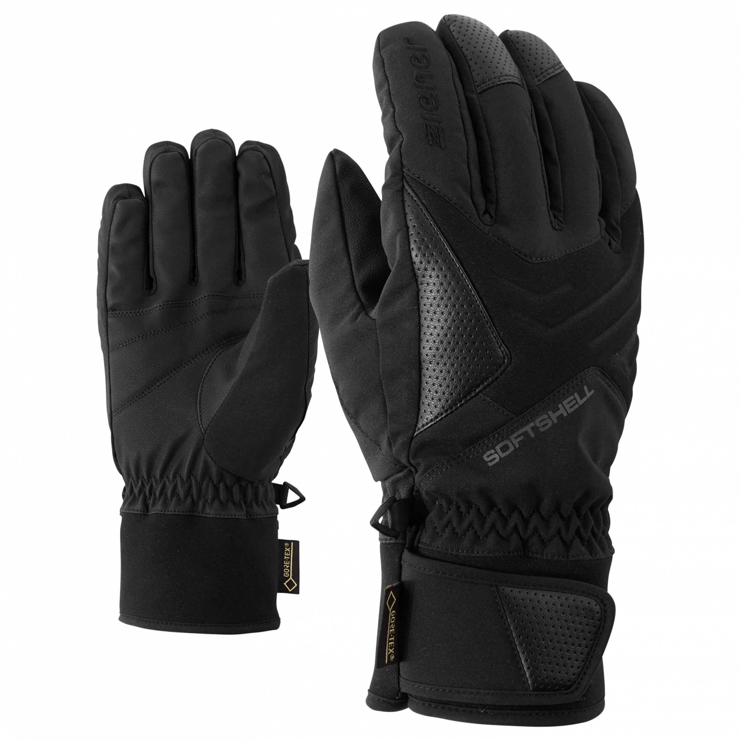 ZIENER Ski Handschuhe Gomser GORETEX schwarz 12