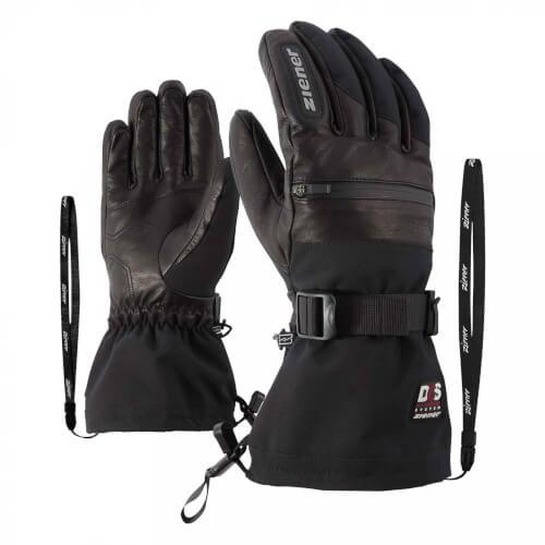 ZIENER Ski Handschuhe extra warm Gallin DCS schwarz 12
