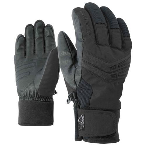 ZIENER Ski Handschuhe extra warm Ginom schwarz 12