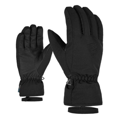 ZIENER Ski-Handschuhe Gerino AQUASHIELD schwarz 12