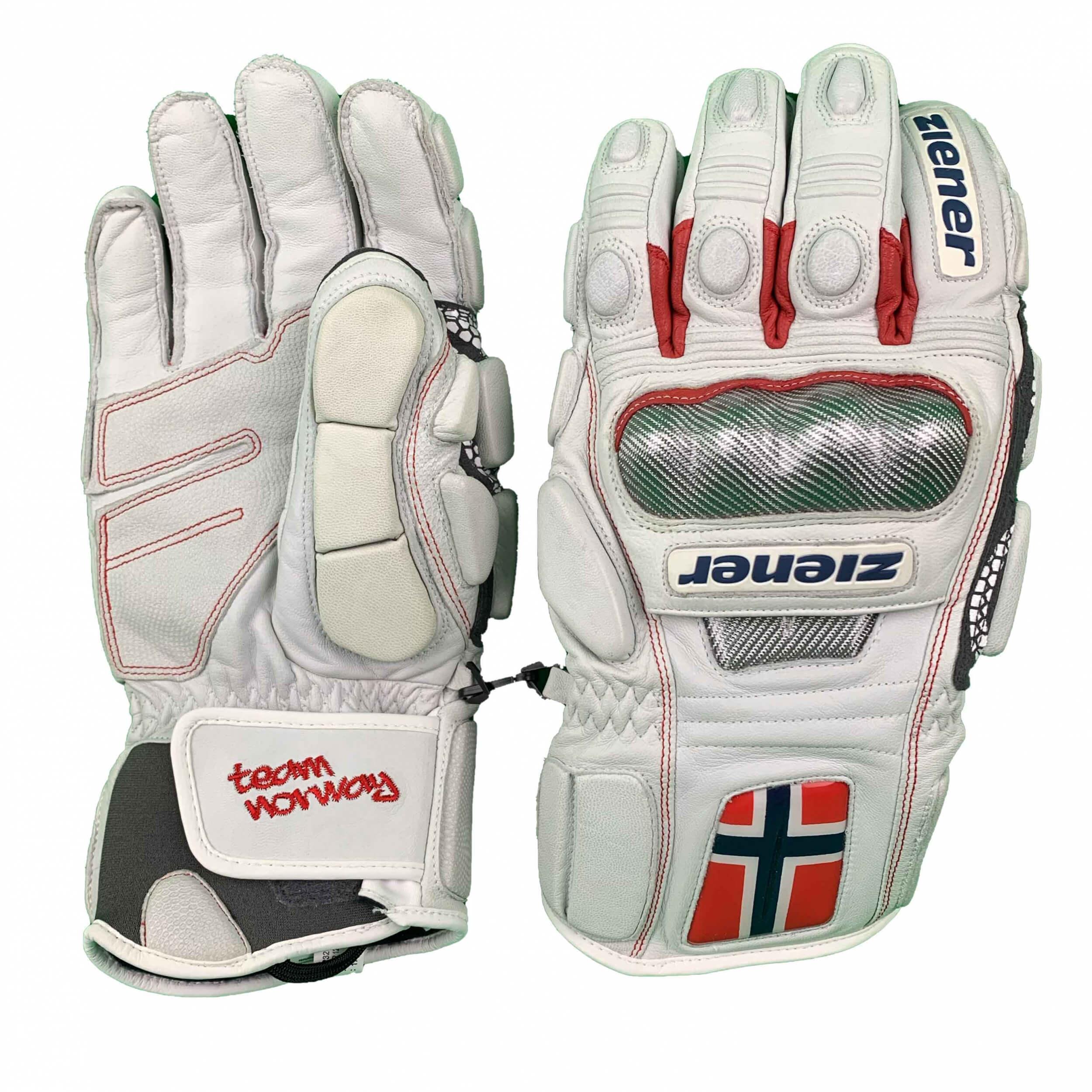 ZIENER Ski Race Handschuhe Gran Risa weiß Norway