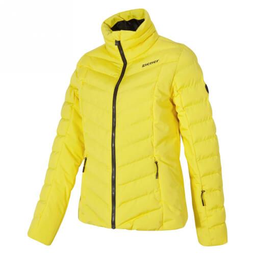 ZIENER Damen Skijacke AQUA SHIELD Talma gelb 884