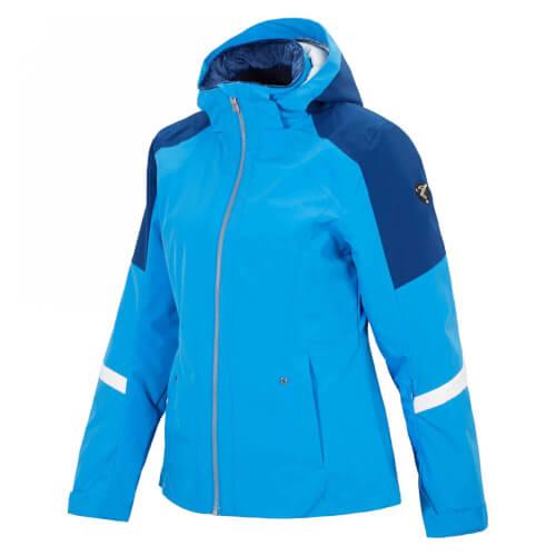 ZIENER Damen Skijacke AQUA SHIELD Trine blau 51