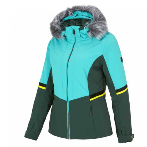 ZIENER Damen Skijacke AQUA SHIELD Toyah grün 765