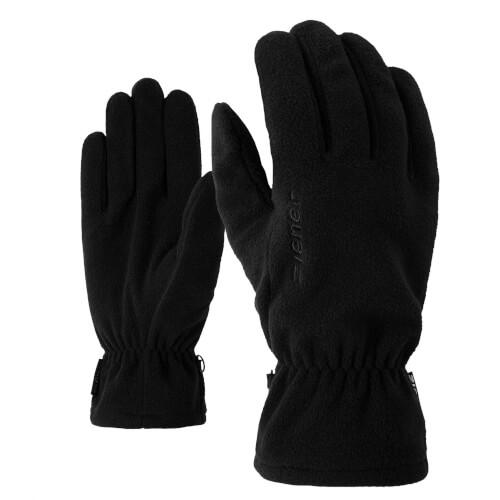 ZIENER Fleece Handschuhe Ibro schwarz 12
