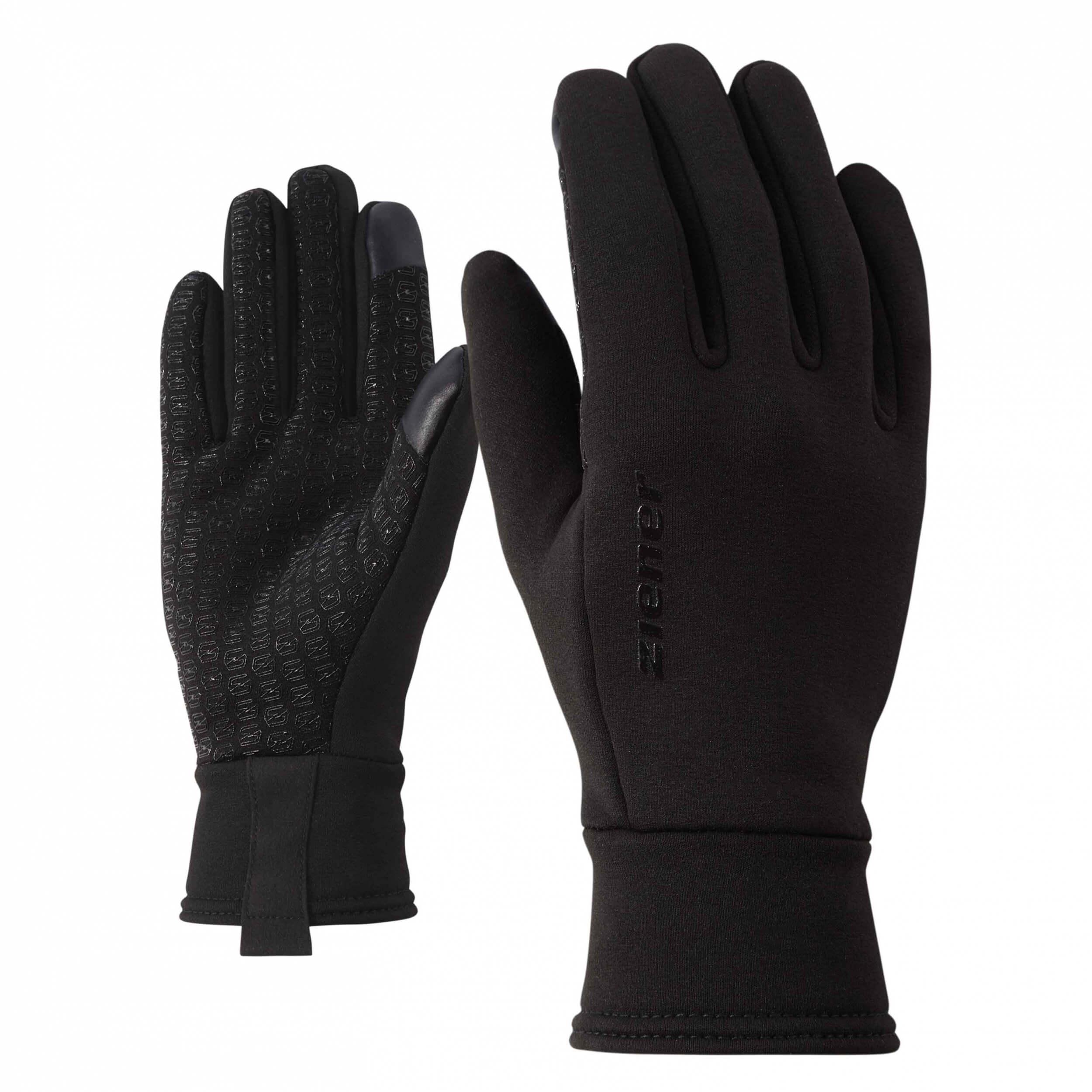 ZIENER leichte Lauf Handschuhe Idilios schwarz 12