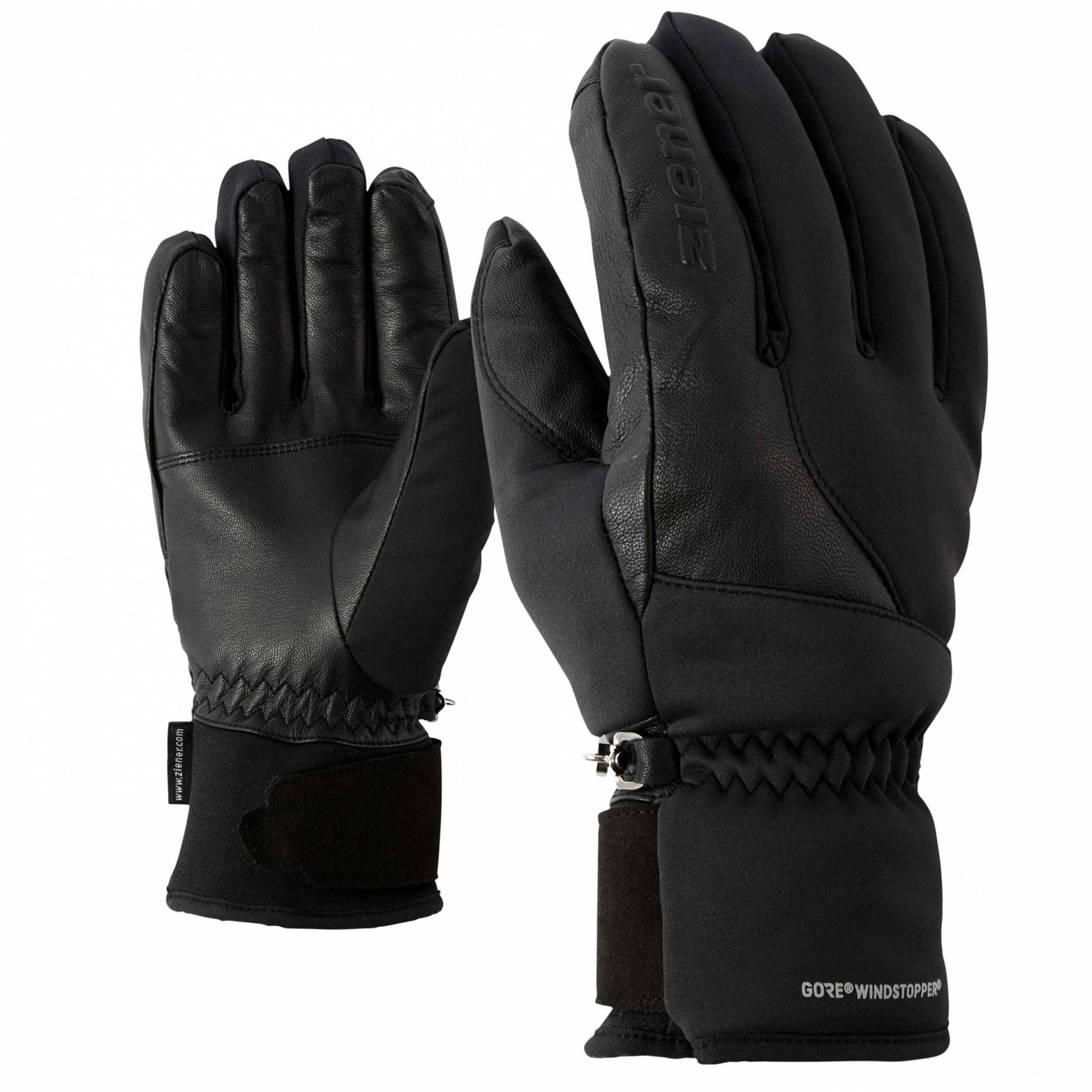 ZIENER Multisport Handschuhe Inaction GORE schwarz 12