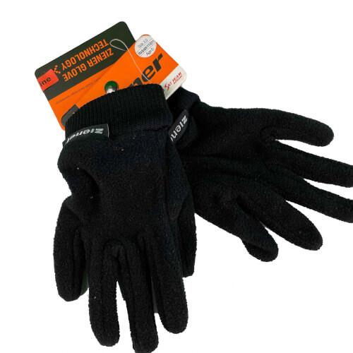 ZIENER Kinder Fleece Handschuhe 1508 schwarz 12