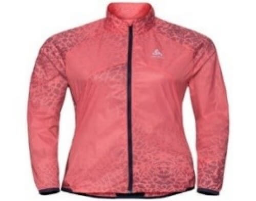 odlo Damen Jacke Omnius orange 70011