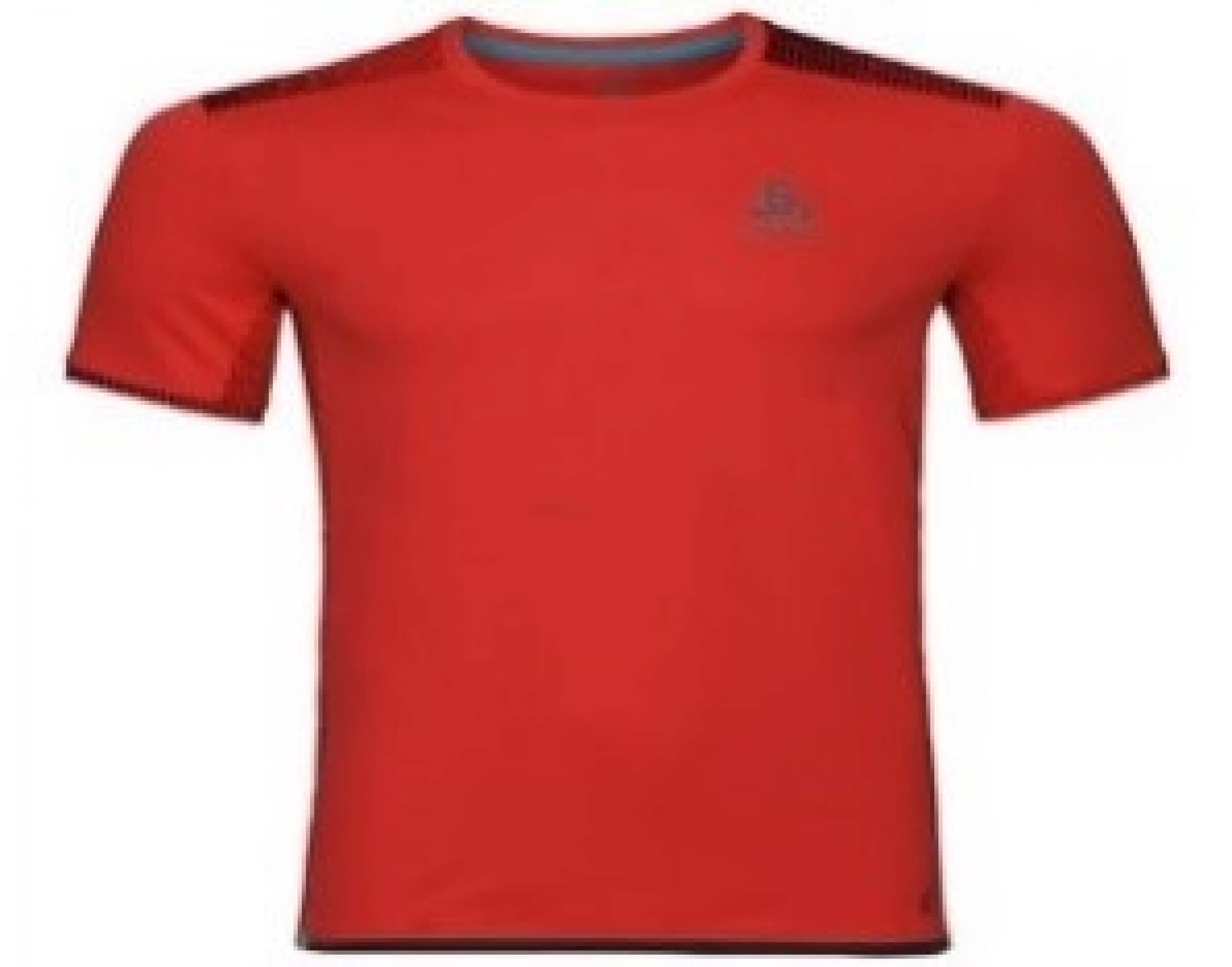odlo Herren Running Shirt Omnius Print rot