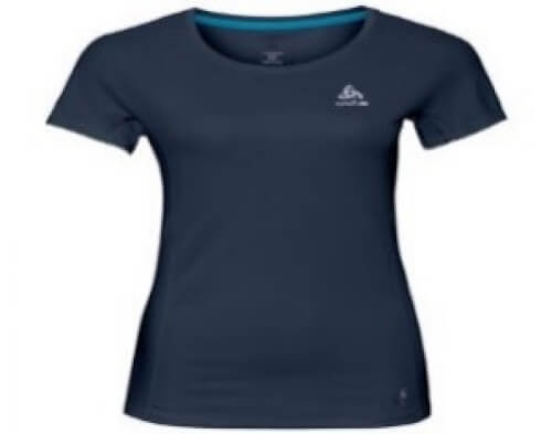 odlo Damen Running Shirt Omnius navy