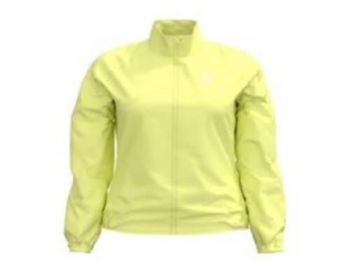 odlo Damen Running Jacke Zeroweight gelb