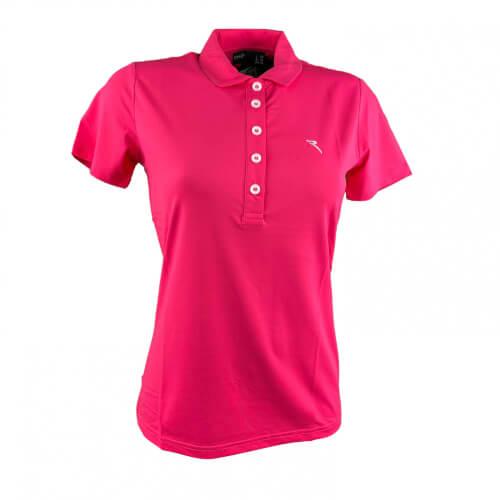 Chervo Damen Polo Autleta Sun Block pink 750