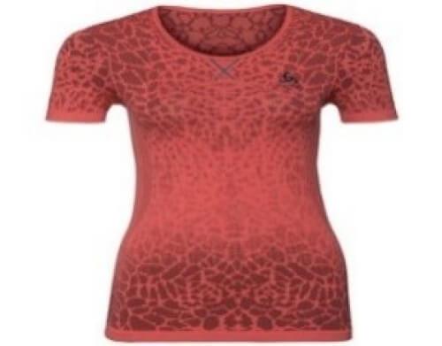 odlo Damen Shirt Evolution orange