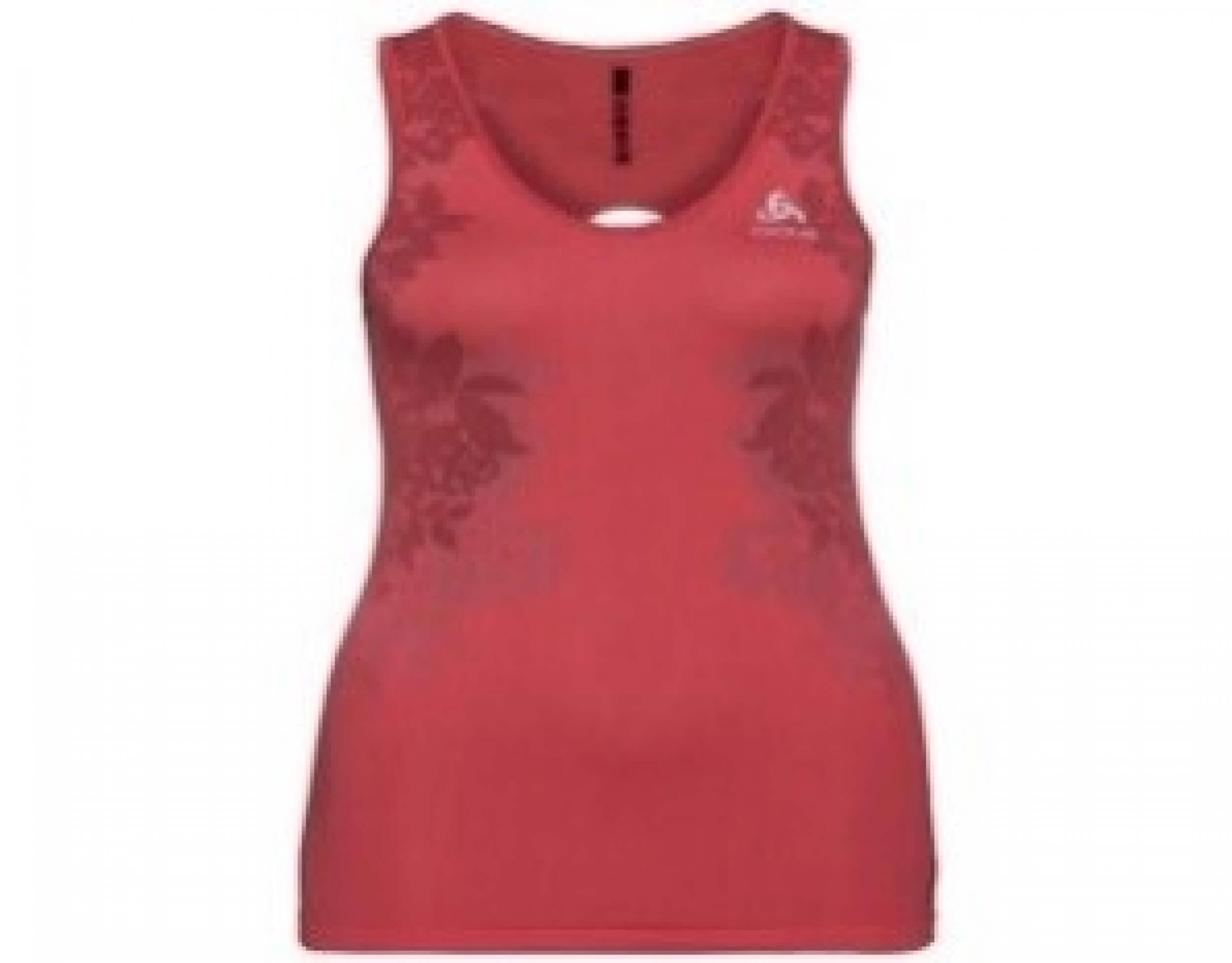 odlo Damen Running Shirt BL Top Singlet orange