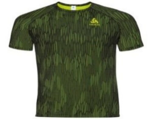 odlo Herren Training Shirt BL Vigor grün 40224