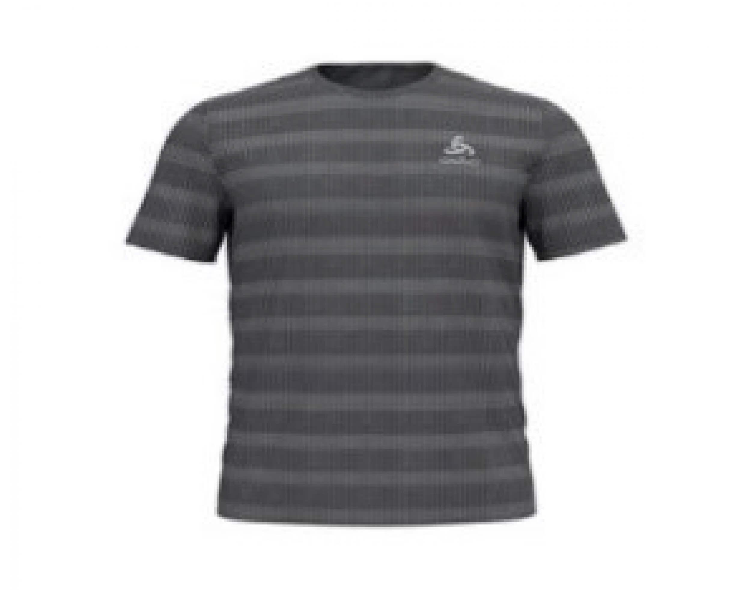 odlo Herren Running Shirt BL Top Millennium grau 10631