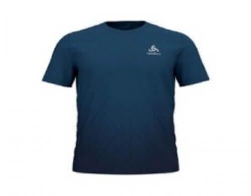 odlo Herren Running Shirt BL Top Millennium blau 20549