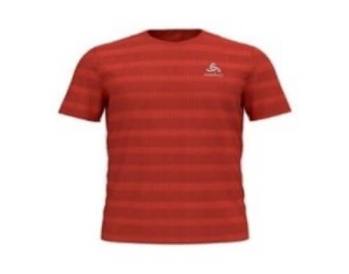 odlo Herren Running Shirt BL Top Millennium orange 30535