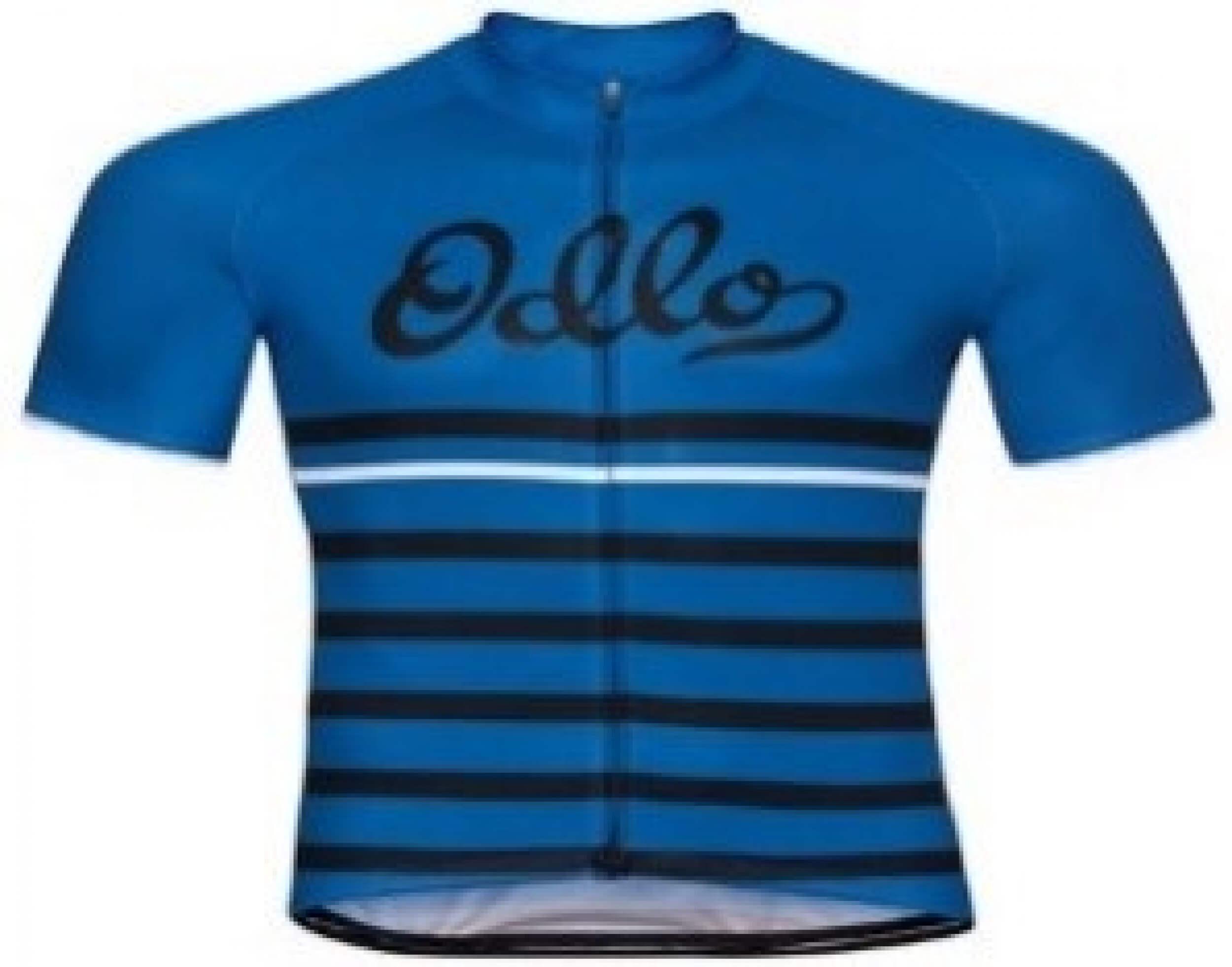 odlo Herren Bike Trikot Fujin Print blau 20451