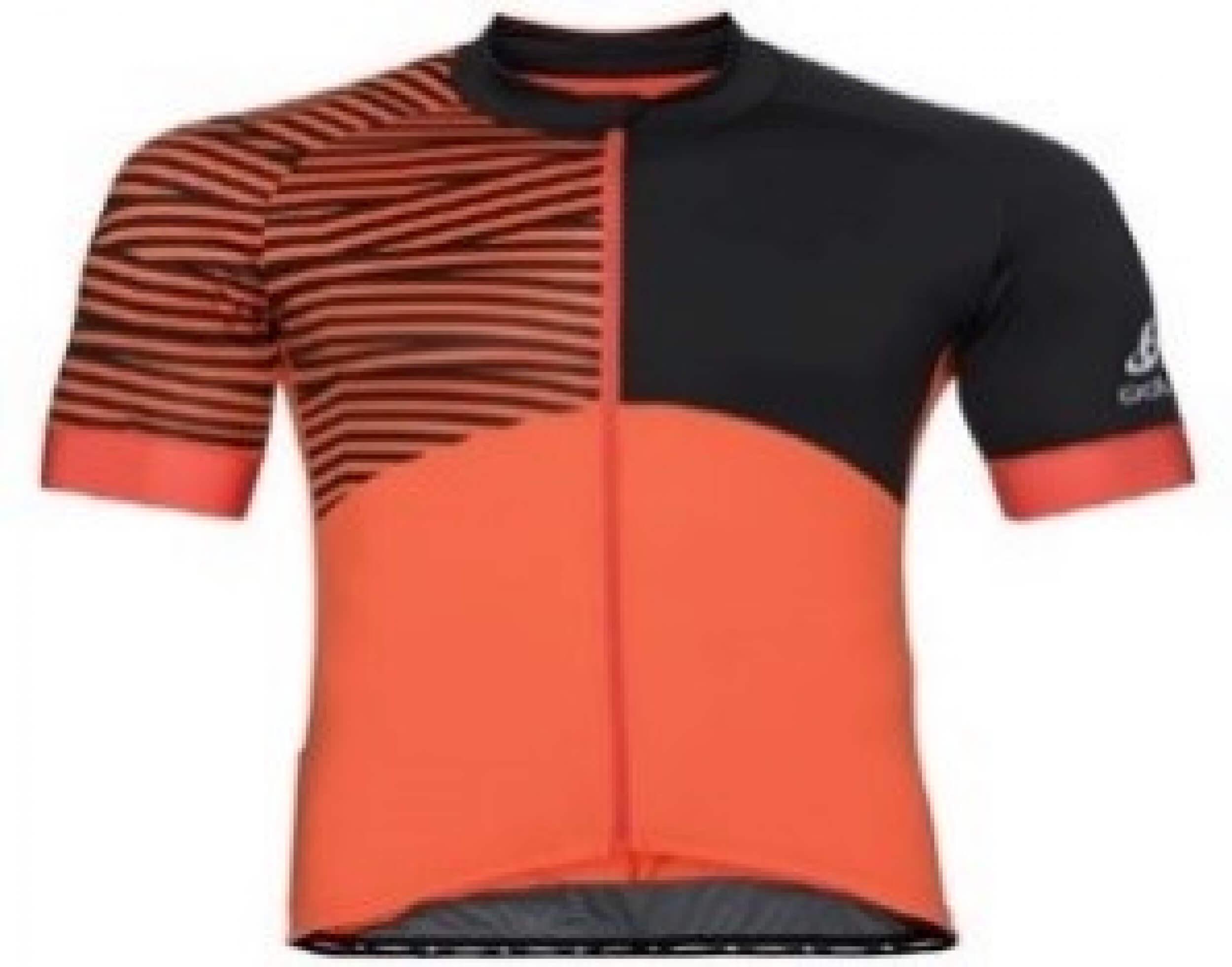 odlo Herren Bike Trikot Umbrail orange 30404