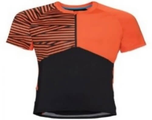 odlo Herren Bike Trikot Morzine orange 60126