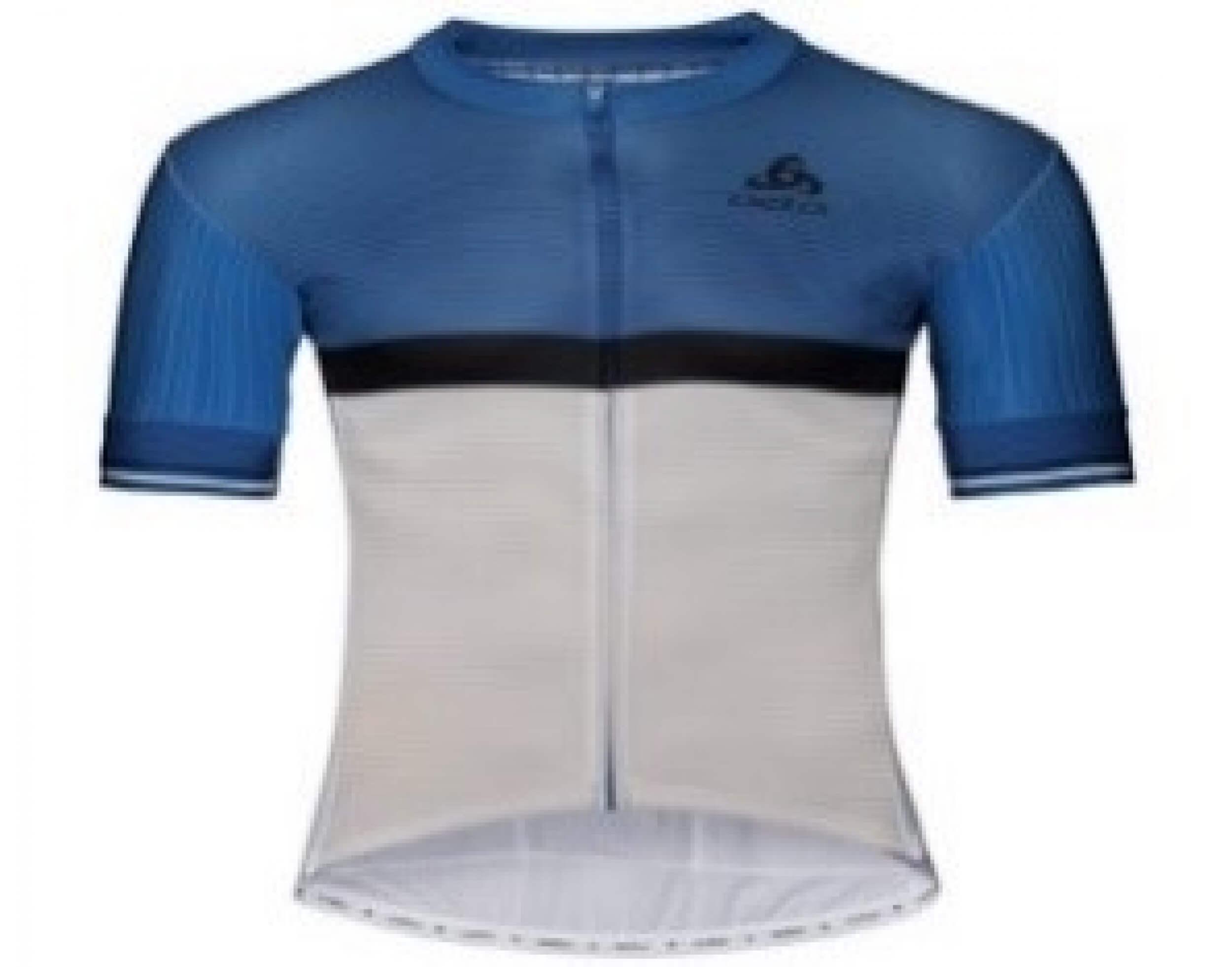 odlo Herren Bike full zip Trikot ZEROWEIGHT PRO blau 20561