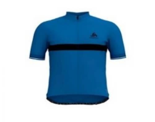 odlo Herren Bike Trikot Fujin Ceramicool blau 20532