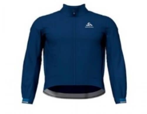odlo Herren Bike Jacke Zeroweight Dual Dry blau 20400