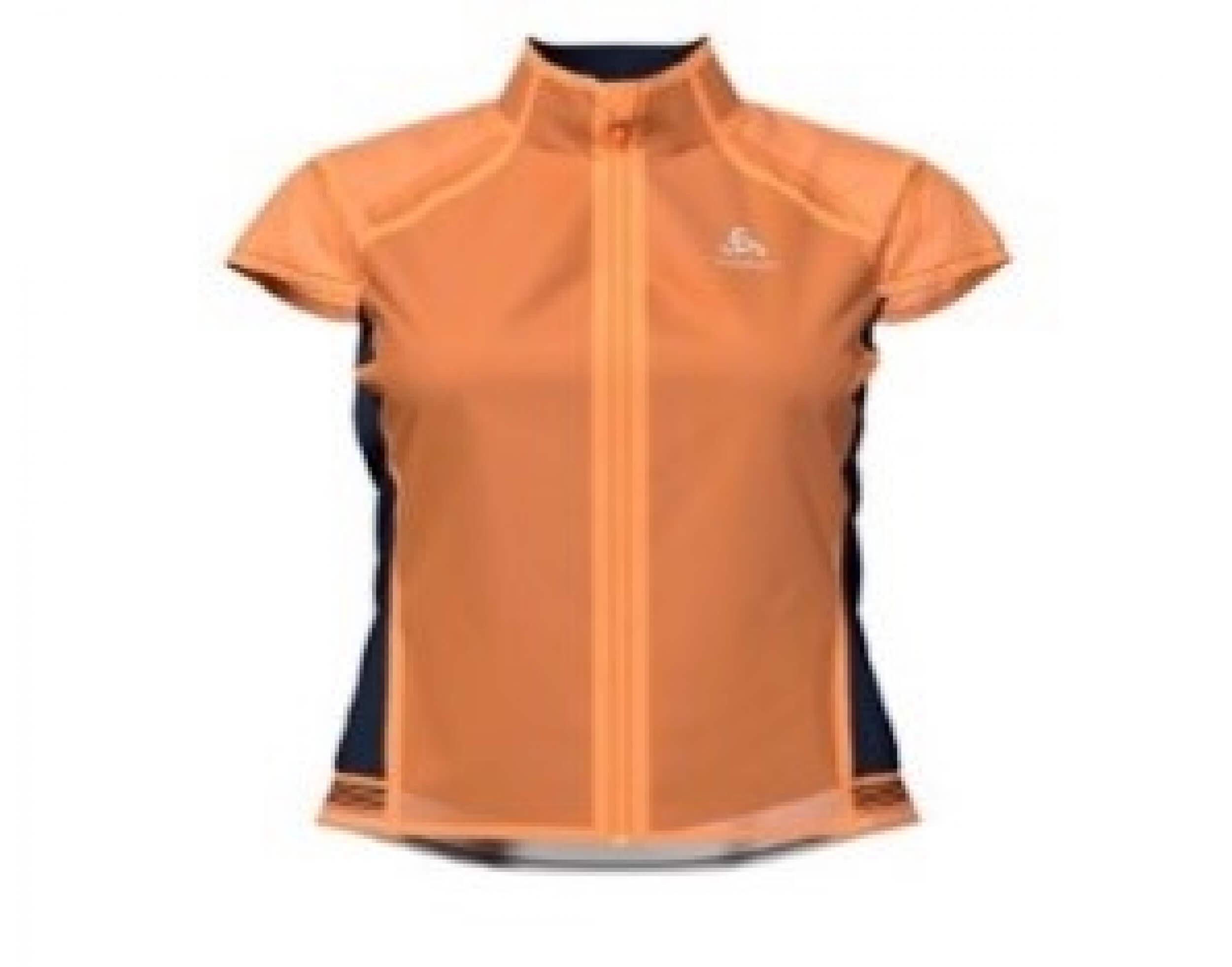 odlo Damen Bike Weste Zeroweight Dual Dry orange 50054