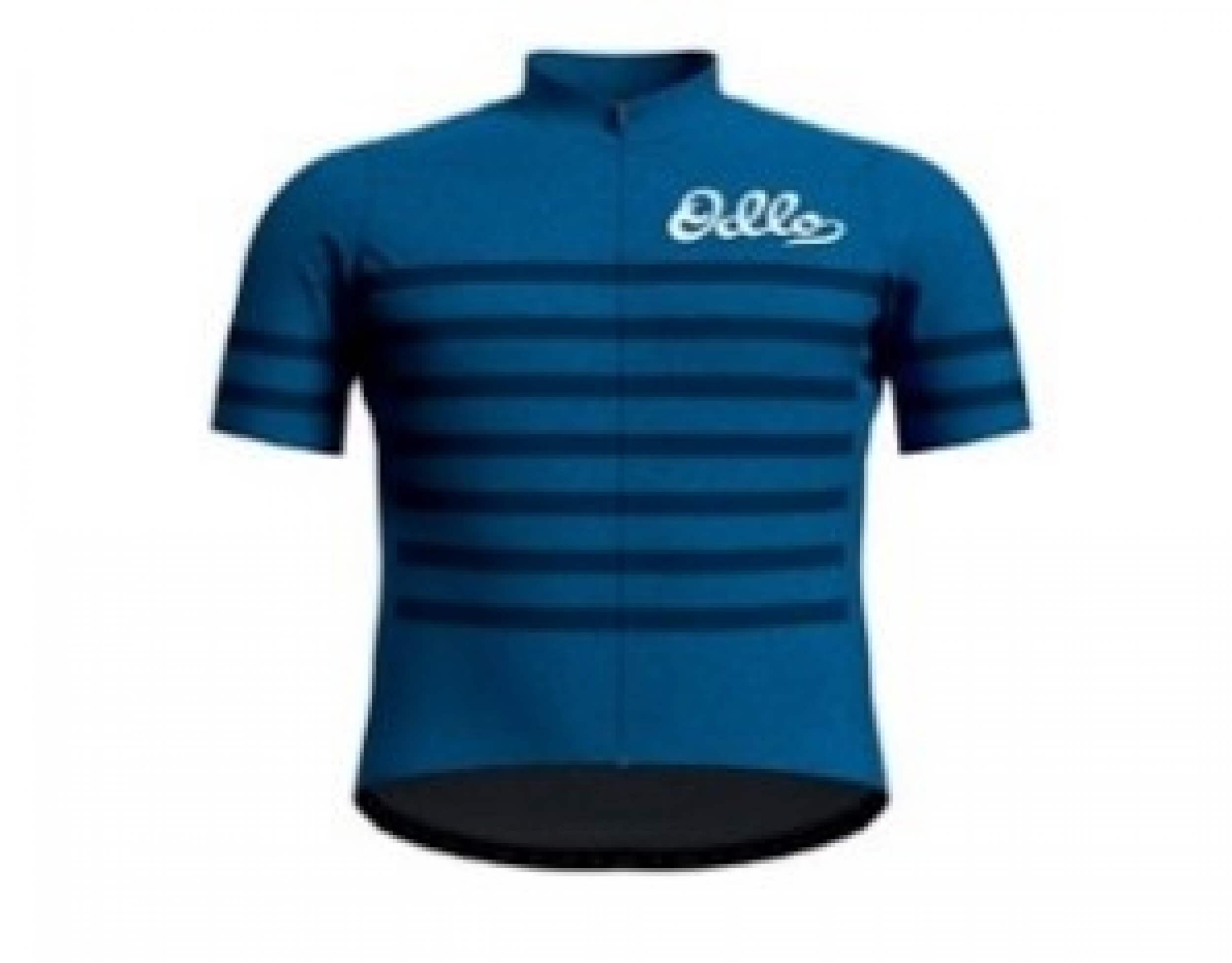 odlo Herren full zip Bike Trikot Element blau 20692