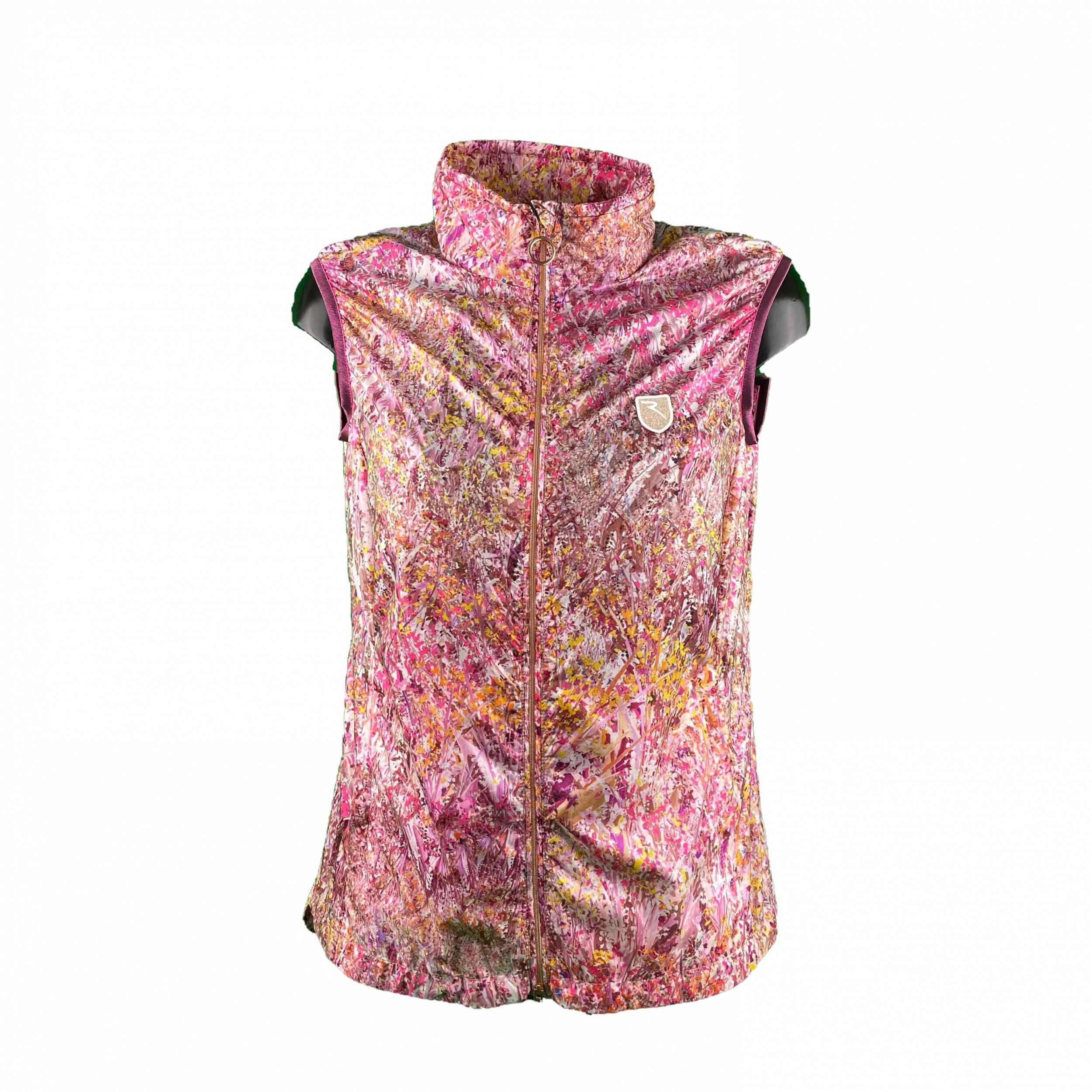 Chervo extrem leichte Damen Windweste WIND LOCK Erula pink 25G