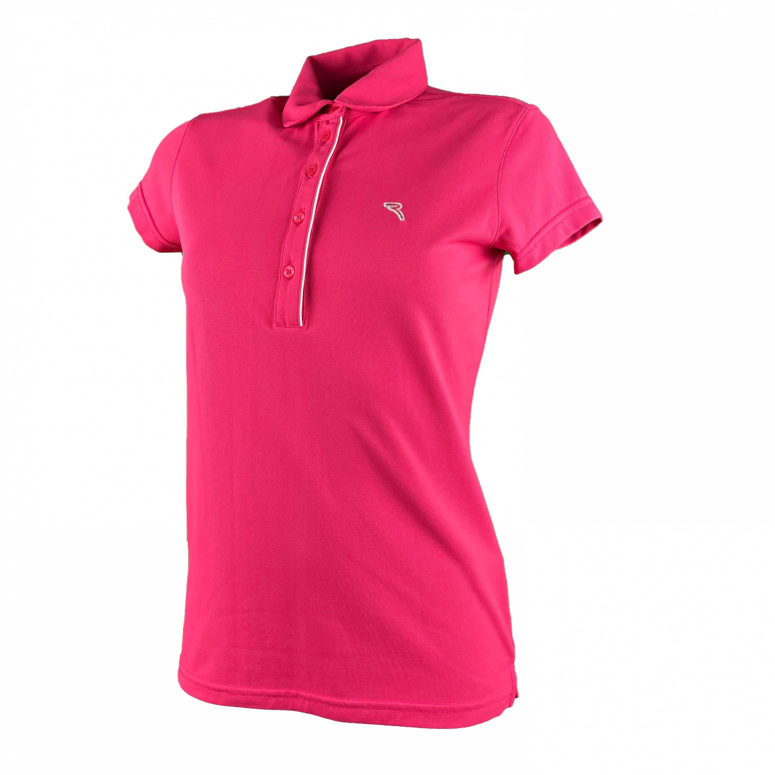 Chervo Damen Polo Affen DRY MATIC pink 750
