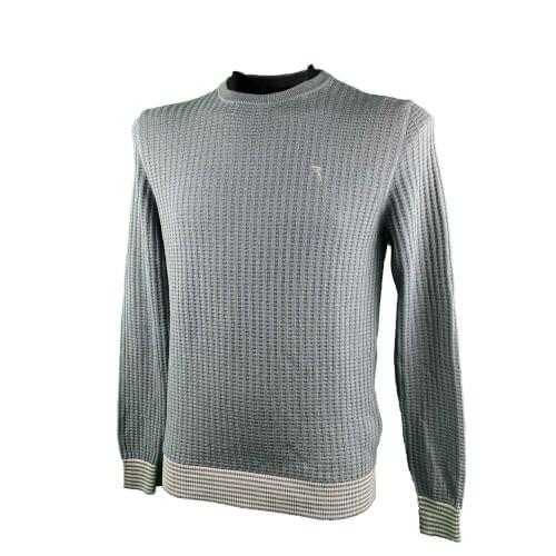 Chervo Herren Strick Sweater Nacho grün 607