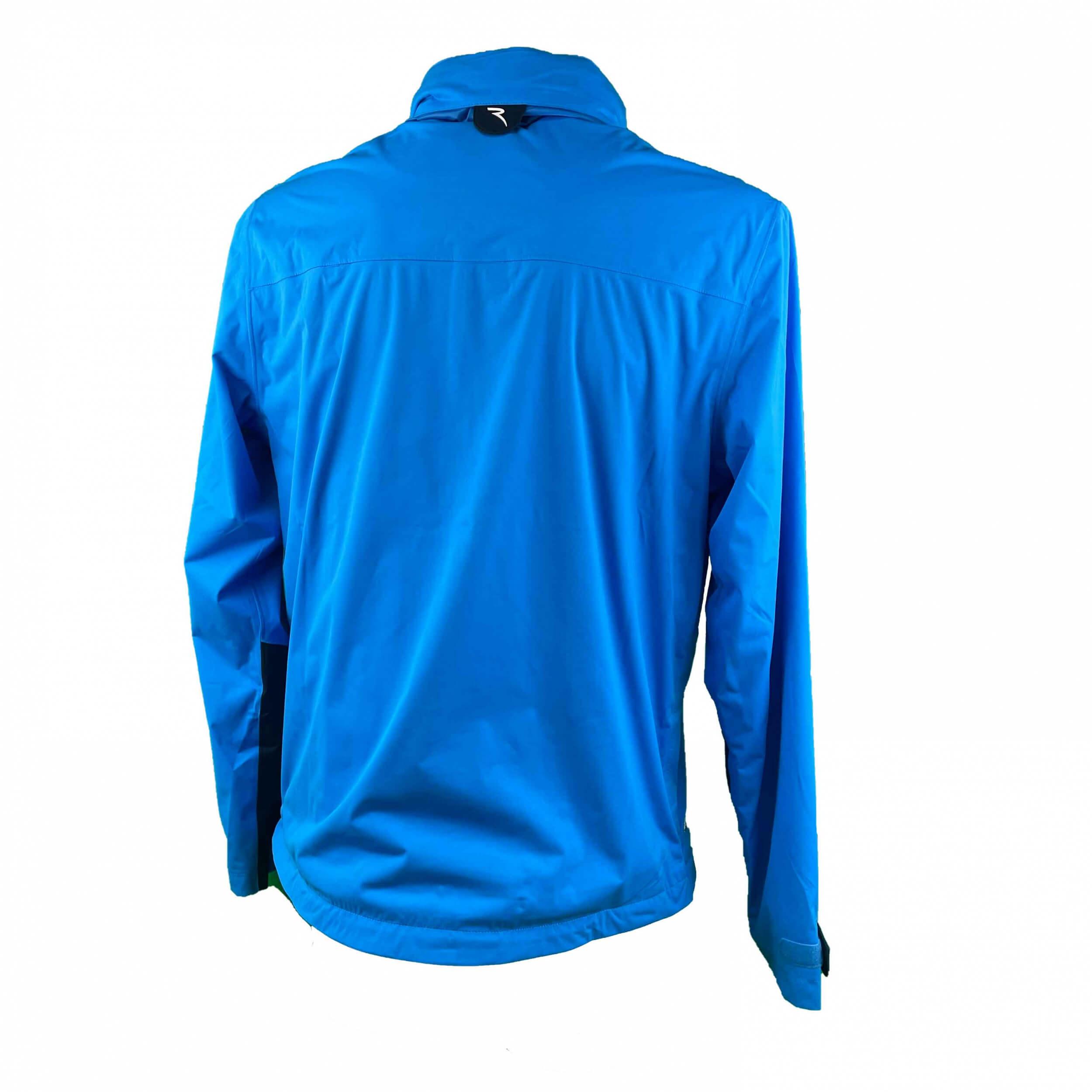 Chervo Herren Regenjacke Madeira AQUA BLOCK blau 573