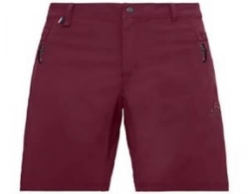 odlo Herren Outdoor Short Wedgemount burgund 30258