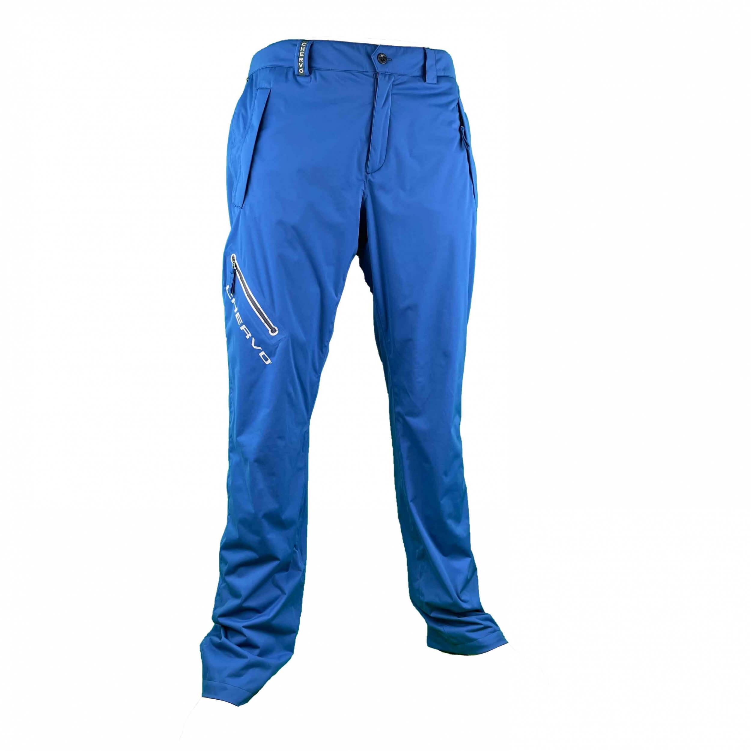 Chervo Herren Regenhose Store AQUA BLOCK blau 569