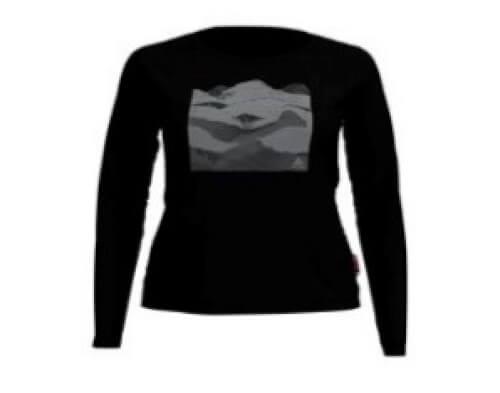 odlo Damen Outdoor Shirt BL Top Concord l/s schwarz 60176