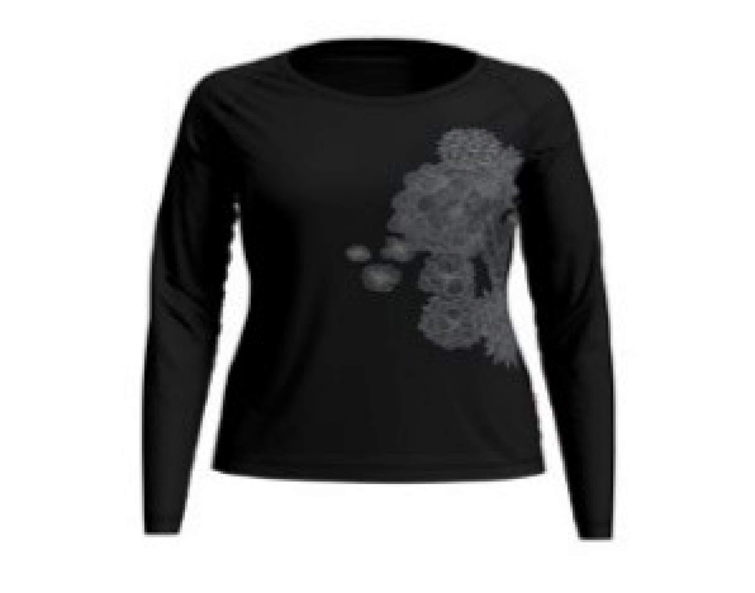 odlo Damen Outdoor Shirt BL Top Concord l/s black 60231