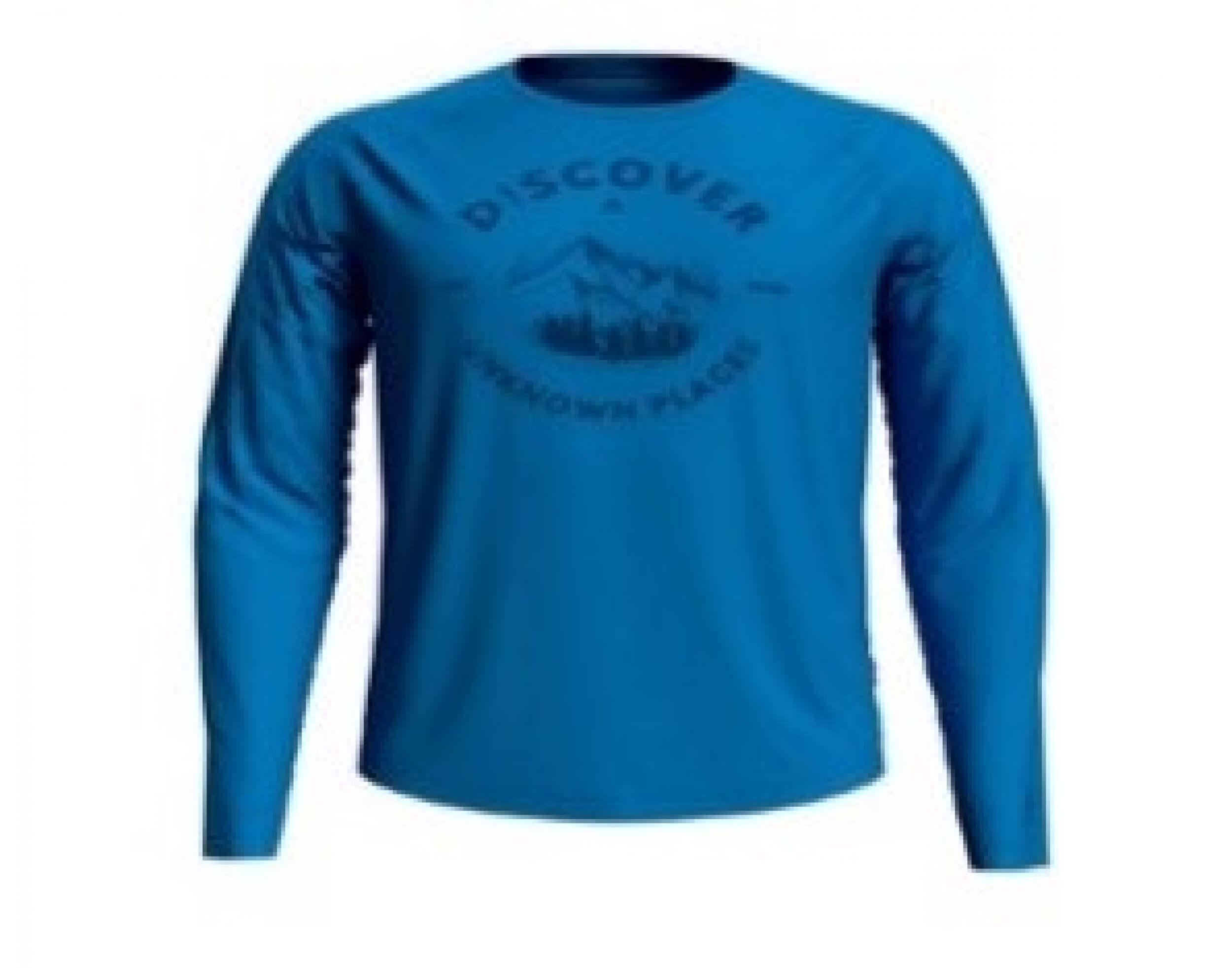 odlo Herren Outdoor Shirt BL Top Concord l/s blau 20688