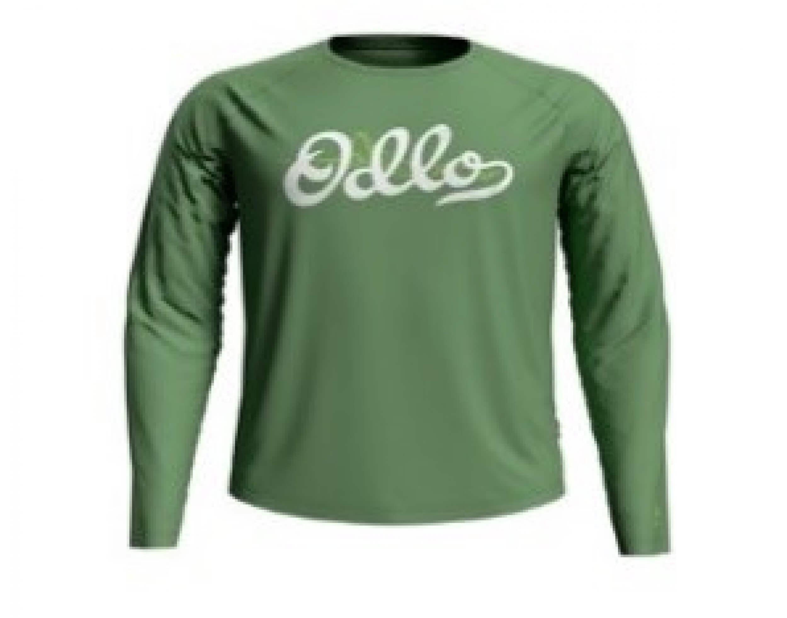 odlo Herren Outdoor Shirt BL Top Concord l/s grün 40317