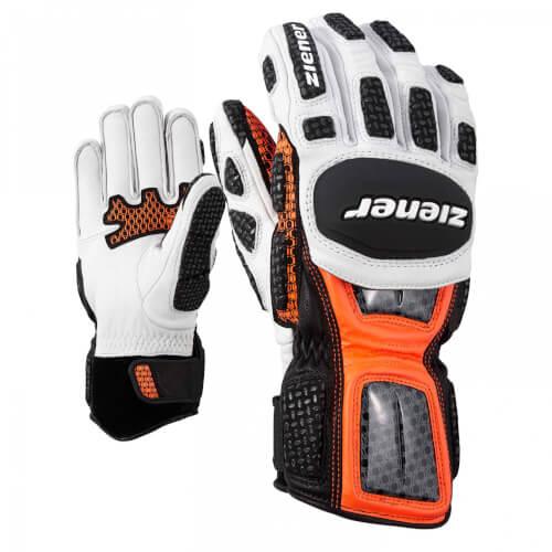 ZIENER Ski Race Handschuhe GS Technik orange 738