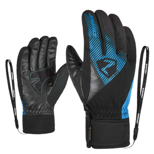 ZIENER Ski Handschuhe Gido GORETEX schwarz blau 798