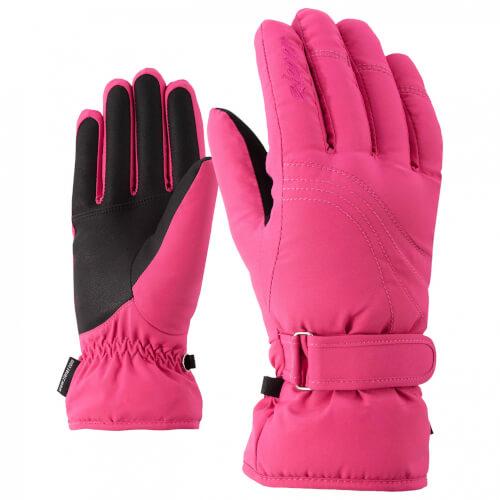 ZIENER Damen Skihandschuhe Konny AQUA SHIELD pink 766