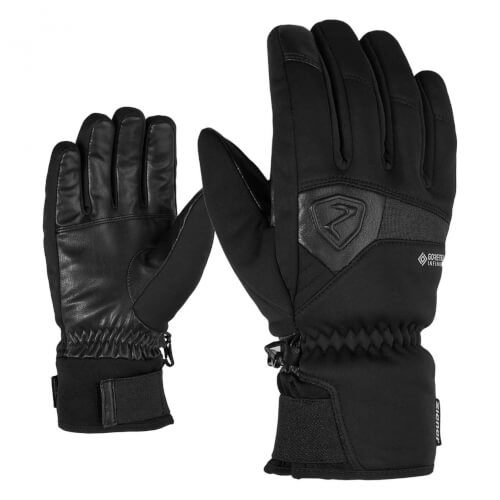 ZIENER Ski Handschuhe Garcon GORETEX INF schwarz 12