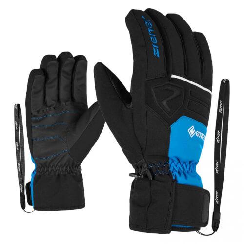 ZIENER Ski Handschuhe Greggson GORETEX blau 798